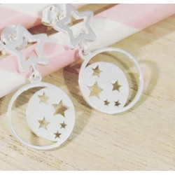 Boucles Pluie d'étoiles