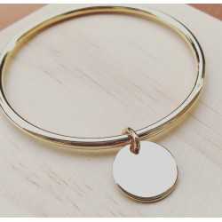 Mon Bracelet Plaqué or Onyx