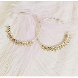 Bracelet Sweet Destructuré Glitter Blanc