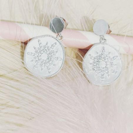 Bracelet Mini Ball Rose flashy