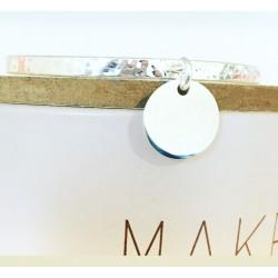 Bracelet Cat Plaqué or Turquoise