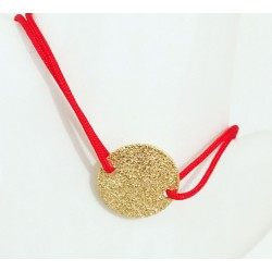 Bracelet Glittering Plaqué or