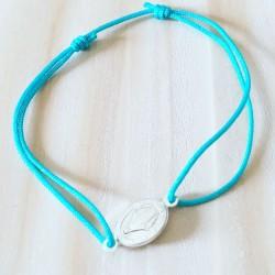 Bracelet Perlita Plaqué or Blanc opale