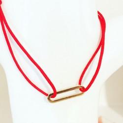 Bracelet O'vale Plaqué or