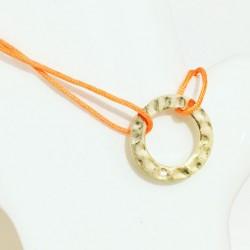 Bracelet Madonne Rose pâle Plaqué or