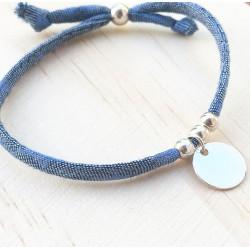 Bracelet Mini Poupette Bleu étoilé