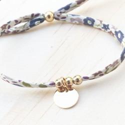 Bracelet Baby Cross Gris
