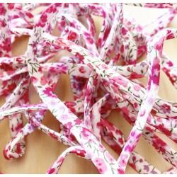 Créoles Bubble Plaqué or Clin d'oeil Rose