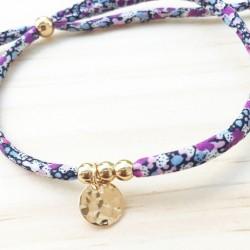 Bracelet Mandy Big Number 4 Capel Gris clair