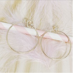 Boucles Evy Plaqué or