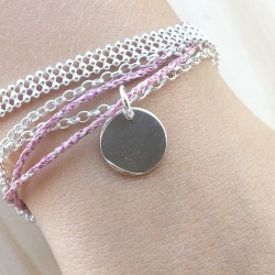 Bracelet Cuir Bubble