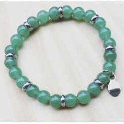 Bracelet For Him Quartz vert