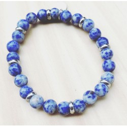 Bracelet For Him Jaspe bleu