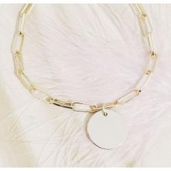 Bracelet Maya Plaqué or