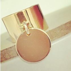 Bague Pop Plaqué or