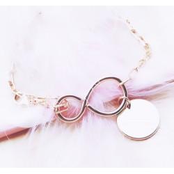 Bracelet Infinity Plaqué or