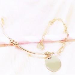 Bracelet Roma Plaqué or