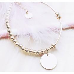 Bracelet Emma Plaqué or