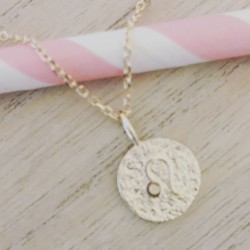 Collier Softy Good Luck Rose flashy