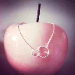 Collier Mini Double circles