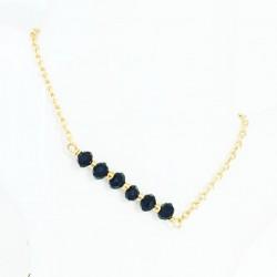 Bracelet Perlita Plaqué or
