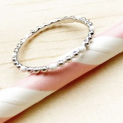 Bague Miss Bella White
